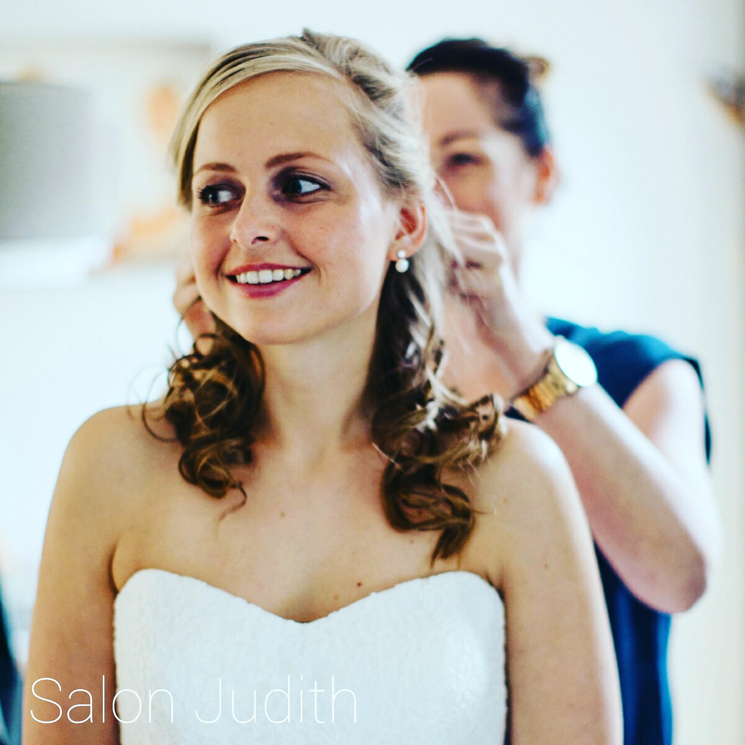 Bruidsarrangement, Salon Judith, visagie, Bruid