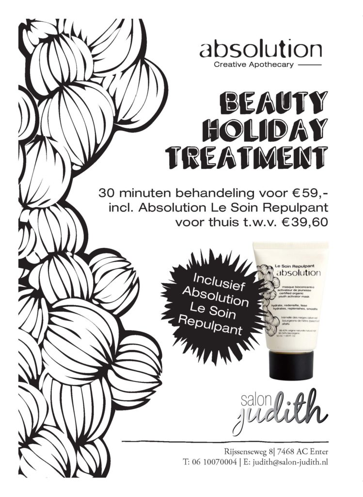 #abslolutioncosmetics #absolution #treatment #huidverbetering